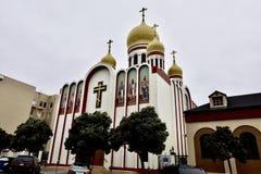 Vergine Santa-Kathedraal van de Russische Orthodoxe Kerk, 2 stock afbeelding