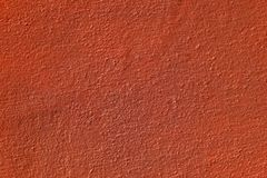 Vergipste Oberflächenwand, gemalt im Braun, Detailbeschaffenheit Lizenzfreie Stockfotografie