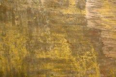 Vergipste Wände mit Schalenfarbengelb Lizenzfreie Stockbilder