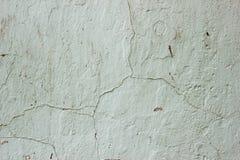 Vergipste Wand mit Bürstenanschlägen stockbild