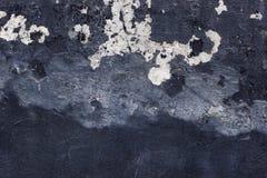 Vergipste Wand mit Bürstenanschlägen stockfotografie
