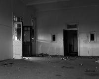 övergivet spökat hus Fotografering för Bildbyråer