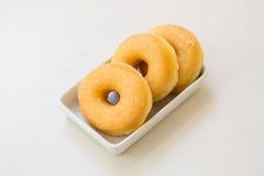 Verglaasde doughnut Stock Afbeelding