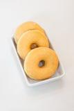 Verglaasde doughnut Royalty-vrije Stock Afbeeldingen