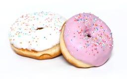 Verglaasde Doughnuts Stock Afbeelding