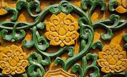Verglaasde lotusbloemachtergrond Stock Afbeeldingen