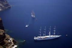 Vergnügens-Yachten lizenzfreies stockbild