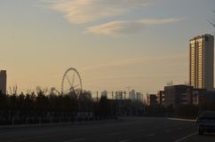 Vergnügungspark Hohhots Altai lizenzfreie stockbilder