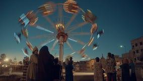 Vergnügungspark in Rabat lizenzfreie stockbilder