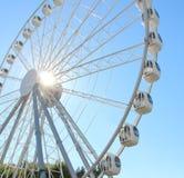Vergnügungspark-Riesenrad Stockfotografie