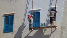 Vergoelijk het schilderen - Afrika Royalty-vrije Stock Foto