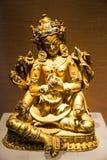 Vergoldeter Buddha Stockbild