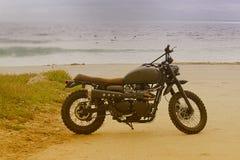 Vergrößern Sie das Motorrad lizenzfreie stockfotografie