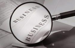 Vergrößern Sie Geschäft Lizenzfreies Stockbild