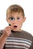 Vergrößertes Auge Stockbilder