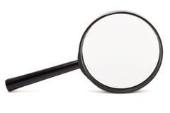 Vergrößerungsglas getrennt Lizenzfreie Stockfotografie
