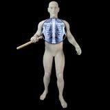 Vergrößerungsglasröntgenstrahl Lizenzfreies Stockfoto