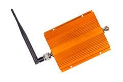 Vergrotende signaalrepeater voor GSM cellulaire telefoon Royalty-vrije Stock Foto's