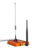 Vergrotende signaalrepeater voor GSM cellulaire telefoon Stock Afbeeldingen