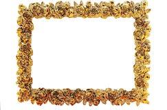 Verguld Frame royalty-vrije stock foto