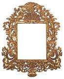Verguld frame royalty-vrije stock fotografie