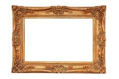 Verguld frame in oude stijl royalty-vrije stock foto