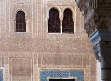 Vergulde Zaal (Cuarto-dorado) in Alhambra Stock Afbeeldingen
