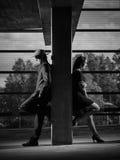 Verhältnis, Mann und Frau, städtisches Thema stockbilder