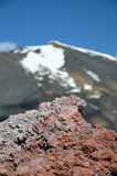 Verhärtete Lava des Ätnas Lizenzfreies Stockbild