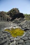 Verhärtete Lava des schlafenden Vulkans Lizenzfreie Stockbilder