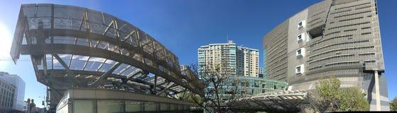 18 verhaal San Francisco Federal Building wijd aan kant royalty-vrije stock afbeeldingen