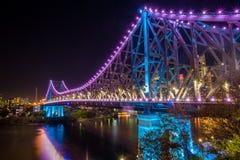 Verhaalbrug, de Stad van Brisbane, Queensland stock foto's