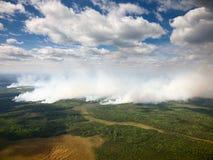 Verheerendes Feuer Lizenzfreies Stockfoto