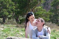 Verheiratete Paare Stockbild