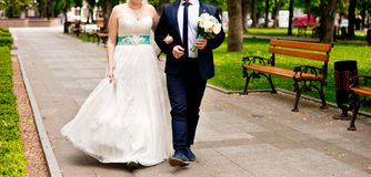 Verheiratete Paare Stockfotografie