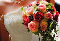 Verheirateter Blumenstrauß Lizenzfreie Stockfotos