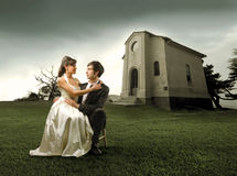 Verheiratetes Paar Stockfotos