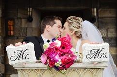 Verheiratetes Paar Stockbild