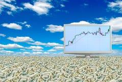 Verhogingsrentabiliteit Royalty-vrije Stock Afbeeldingen