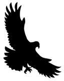 Verhongerd vogel stock illustratie
