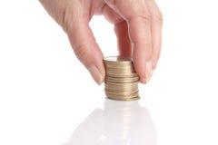 Verhoog uw besparingen! Stock Fotografie