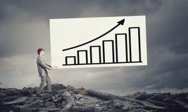 Verhoog uw inkomen Stock Fotografie