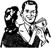 Verhoogde Inkomens royalty-vrije illustratie