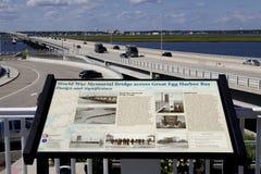 Verhoogde weg Oceaanstad, New Jersey Royalty-vrije Stock Fotografie