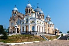 Verhoturie.Man's Piously-Nikolaev monastery 1 Stock Image