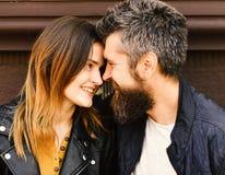 Verhouding en gelukconcept Vrouw en man stock foto's