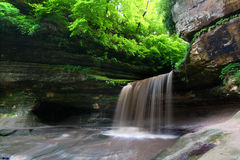Verhungerter Felsen-Nationalpark - Illinois Stockbilder