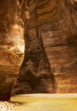 Verical obrazek wadiego Mujib kurort lokalizować blisko do Nieżywego morza, Obraz Royalty Free