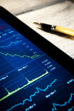 Verific o mercado Imagem de Stock