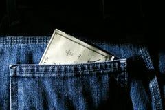 Verificação 2 do pagamento do dia de pagamento Fotografia de Stock